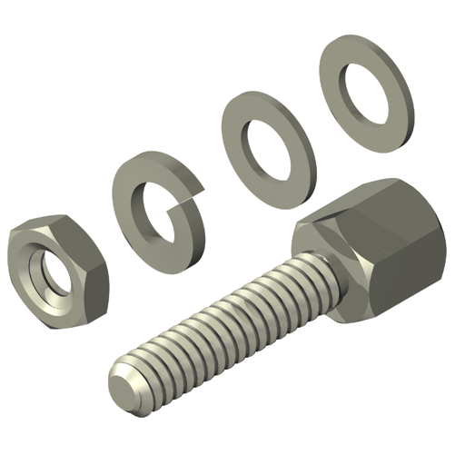Jack Screw Assembly Kit