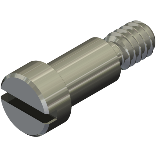 Precision Shoulder Screw - Slotted