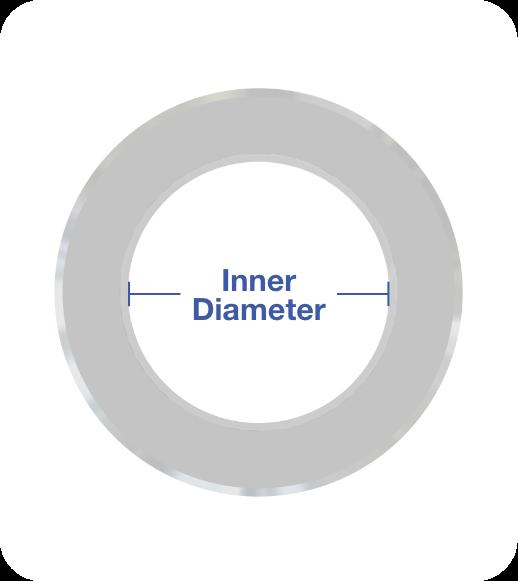 Standard Spacer Metric Spacer Inner Diameter