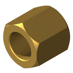 Standard Spacer Metric Spacer Brass Hexagon